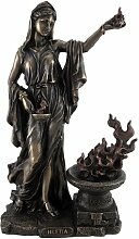 Griechische Göttin Hestia braunen Statue
