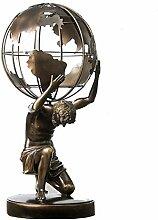 Griechische Gott Statue, Atlas Skulptur
