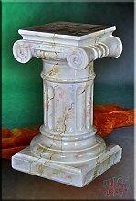 Griechische Säule Antik Blumensäule Marmor Optik
