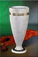Griechische Vase Mäander Blumenvase Schale