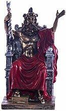 Griechische Zeus-Statue, König der Götter