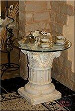 Griechischer Beistelltisch Antik Säule