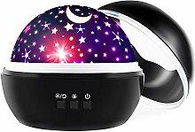 GRIFEMA DG3002-2, Sternenhimmel Projektor Lampe,