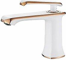 GRIFEMA G1001W Einhand Bad Wasserhahn, Badarmatur,