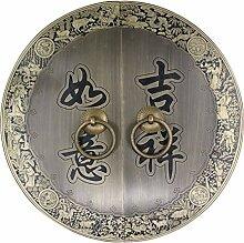 Griff,Antik kupfer griff chinesische schranktür möbelgriff Outfit kupfer griff Tür-hardware kupfer armaturen Face plate schraube schrankeinbau-M