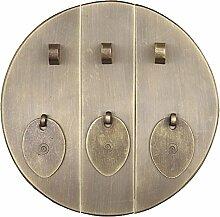 Griff,Antiker türgriff Chinesische kupfer rundgriff Möbelgriff Knopf Kabinett stulp Türschnalle Klopfer 18cm-G