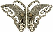 Griff,Im chinesischen stil griff Ming und qing antiken türklopfer Kupfer armaturen Türschnalle Tür schloss stück Möbelgriff Vintage hardware-zubehör 15cm-A