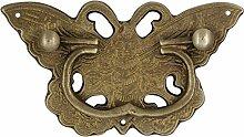 Griff,Schublade messinggriff Chinesische antike möbelgriff Kupfer armaturen Schublade retro-griff Vintage griff Knopf-D