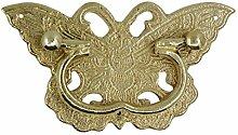 Griff,Schublade messinggriff Chinesische antike möbelgriff Kupfer armaturen Schublade retro-griff Vintage griff Knopf-E