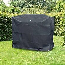 Grill Abdeckhaube für BBQ Gasgrill Schutzhülle 143,5 x 60 x 117,9 cm aus Polyester grau