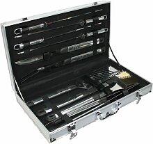 Grill Barbeque-Set im Koffer 10tlg., sehr