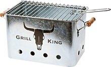 GRILL KING rechteckig 45x22x22cm Silber verzinkt -