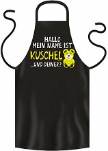Grill/Kochschürze mein Name ist Kuschelbär,