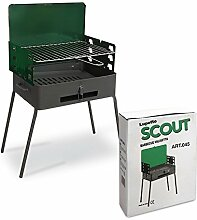 Grill-Koffer tragbar Picknick Wohnwagen Camping Made in Italy