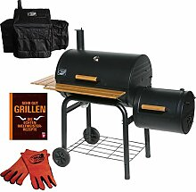 Grill`n Smoke Smoking Classic Barbecue Grill & Smoker Spar Se