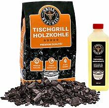 Grill Republic Tischgrill-Kohle 2,5kg & Brennpaste