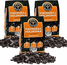 Grill Republic Tischgrill-Kohle 3X 2,5kg / 100%