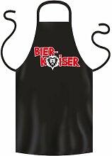 Grill Schürze Schwarz Bier Kaiser