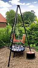 Grill Set 4 in 1 Feuerschale, Schwenkgrill,