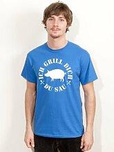 Grill T-Shirt Ich Grill dich du Sau Kult Sommer