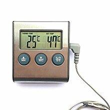Grill-Thermometer, elektrisch, digital,