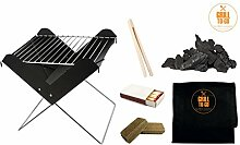 Grill-To-Go Grill Set Faltgrill, Tragetasche,