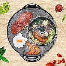 Grill Und Hot Pot Doppeltopf, Integrierte