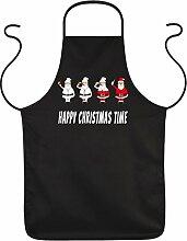 Grill- und Kochschürze mit weihnachtlichem