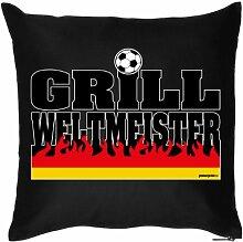 GRILL WELTMEISTER - . Witziges Zusatzkissen mit