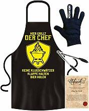 Grill-Zubehör Männer Geschenk Grillschürze :
