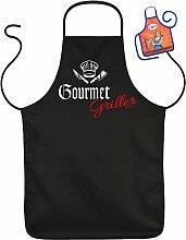 Grill Zubehör Schürzen Set Gourmet Griller Spaß