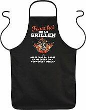 Grillen Grill Mitbringsel FEUER FREI BIN AM