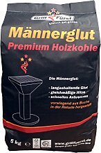 Grillfürst Männerglut Premium Holzkohle -
