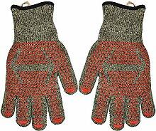 Grillhandschuh, Hitzebeständige Handschuhe 1 Paar
