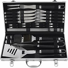 grilljoy 29PCS Grillkoffer Set - Hochleistungs