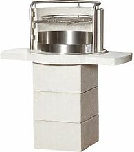 Grillkamin Magic Basic weiss H124xB110xT64cm, 320