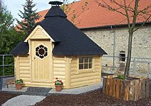 Grillkota, Grillhütte, Gartengrill 9,2 m² inkl.