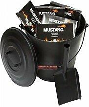 Grillpaul Mustang Ascheeimer 11 L. mit