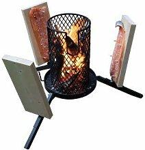 Grillpaul | Mustang Flammlachs Grill | Feuerkorb |