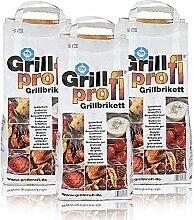 Grillprofi Premium Grillbriketts 26kg Grillkohle