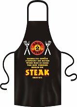Grillschürze Gemüse ersetzt durch Steak Grösse