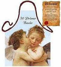 Grillschürze Il Primo Bacio Grill Koch Küchenschürze Schürze Set geil bedruckt mit GRATIS Griller Urkunde