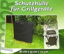 Grillschutzhülle 80 x 55 x 112 cm Abdeckhaube Grill BBQ Gasgrill Schutzhülle Abdeckung