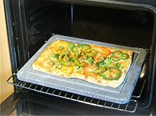 Grillstein und Pizzastein aus Speckstein mit Saftrille
