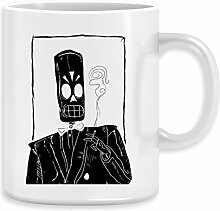 Grimmig Kaffeebecher Becher Tassen Ceramic Mug Cup