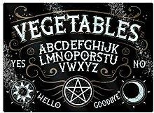 Grindstore Hackbrett Vegetables Ouija Glas