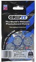 GripIt GRADKIT25 Radiator Kit, Blau, Größe: L, 6 Stück