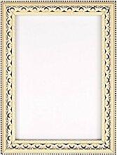Grösse A2 - Distressed weiß Rahmen - Antiker