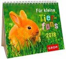 Groh Mini-Kalender 2018 zum Aufstellen kleine Tierfans