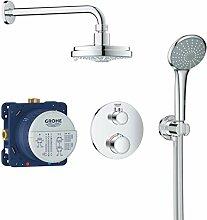 GROHE 34735000 Duschsystem Unterputz mit
